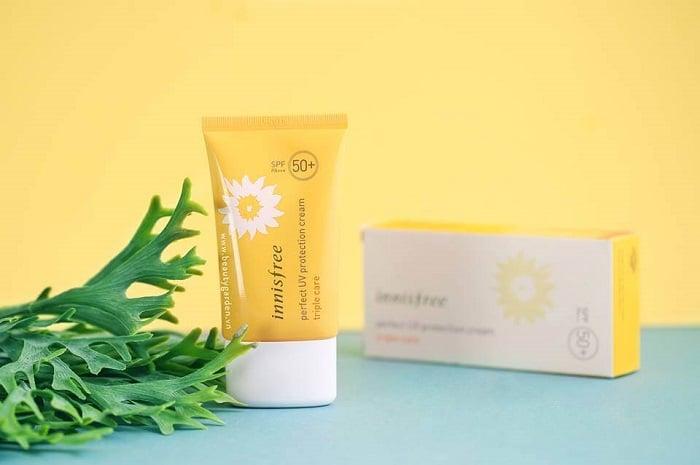 Kem chống nắng này còn cung cấp collagen cho da.