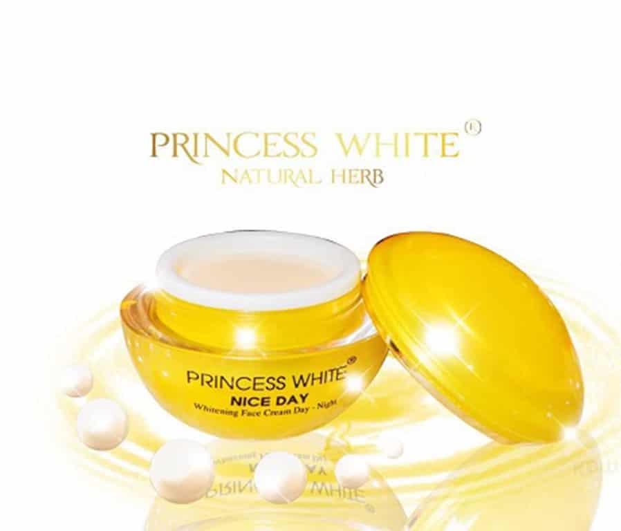 Kem dưỡng trắng da Princess White .