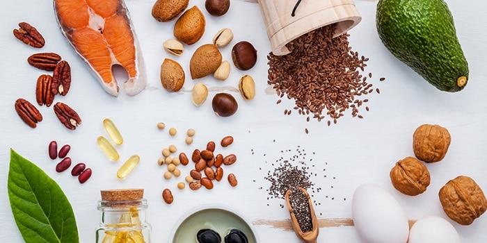 Nhóm thực phẩm giàu axit béo omega-3, omega-6, omega-9.