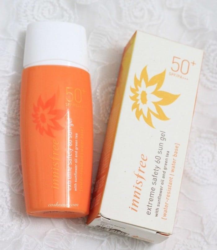 Đây cũng là loại kem chống nắng Innisfree có độ bảo vệ với chỉ số SPF khá cao.