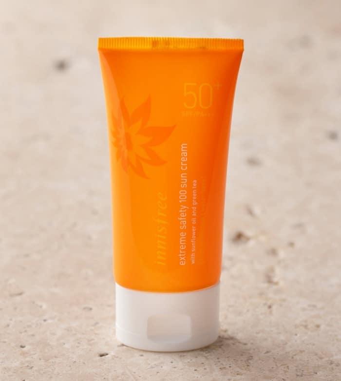 Đây là loại kem chống nắng có chỉ số cao nhất từ trước tới giờ của Innisfree.