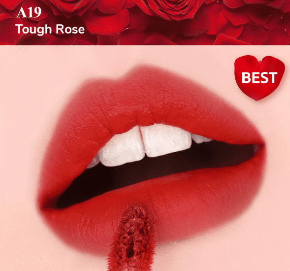 son kem black rouge ver 4 màu A19 Tough Rose.
