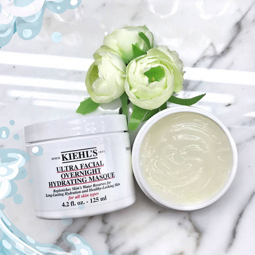 mặt nạ ngủ kiehl's ultra facial overnight hydrating masque