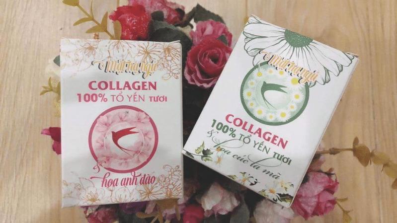 Mặt nạ ngủ collagen tổ yến tươi Lương Viên