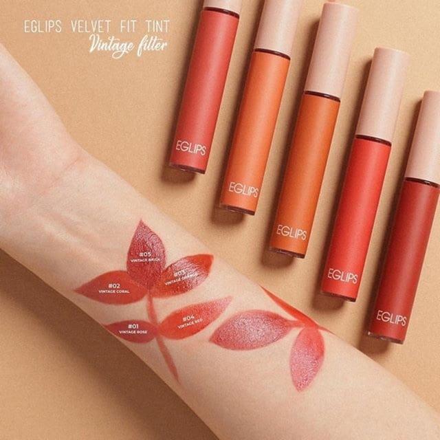 Eglips velvet fit tint 03 là màu bán chạy nhất