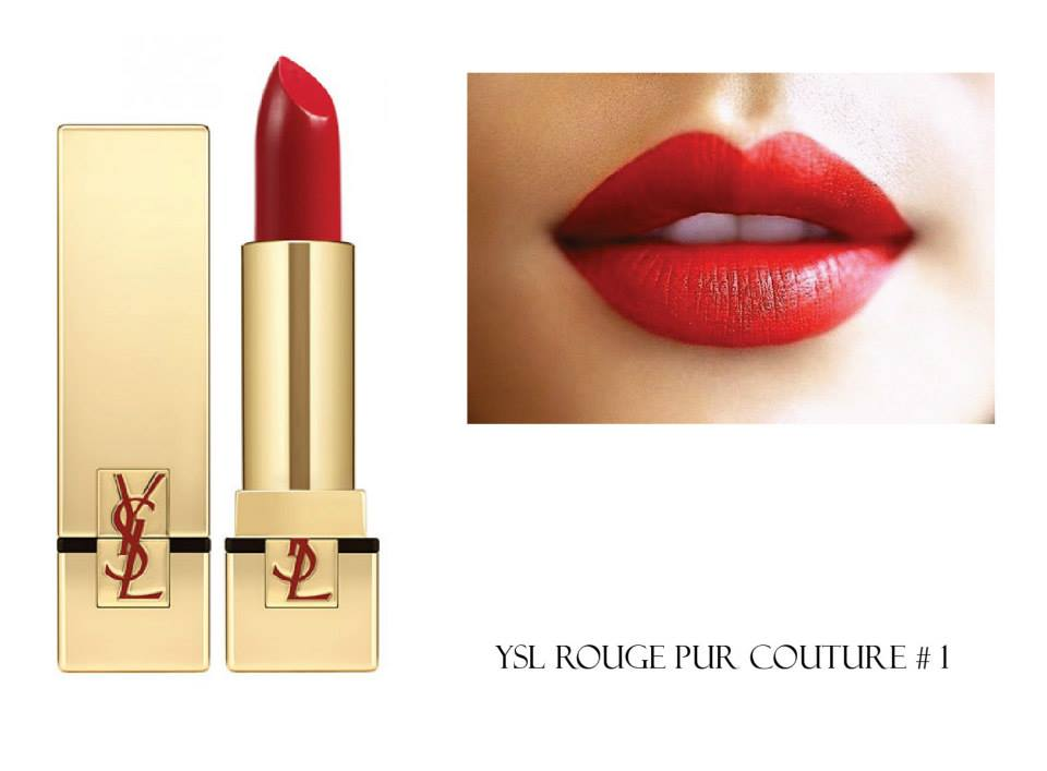 Son Ysl 1 Của Rouge Pur Couture