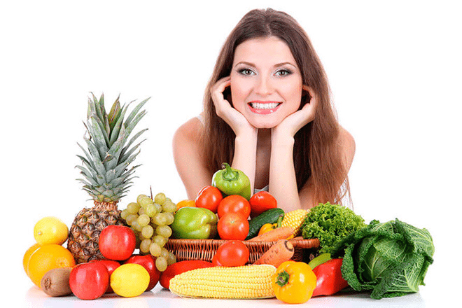 Nhớ bổ sung nhiều rau quả và nước ép hoa quả.