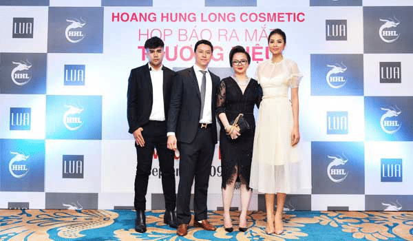Họp báo ra mắt thương hiệu của công ty TNHH Hoàng Hưng Long.