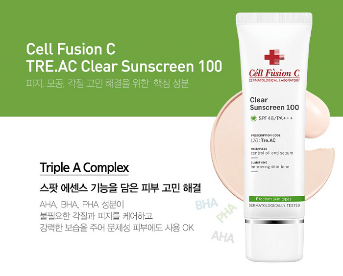 kem chống nắng cell fusion c 50ml