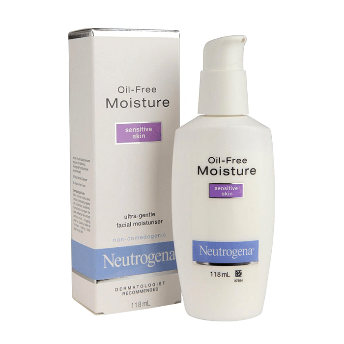 review kem dưỡng ẩm neutrogena oil-free moisturizer