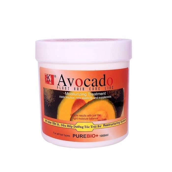 kem ủ tóc bơ avocado