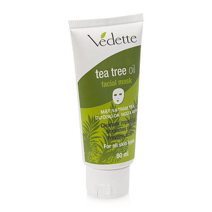 tea tree oil facial mask made in italy