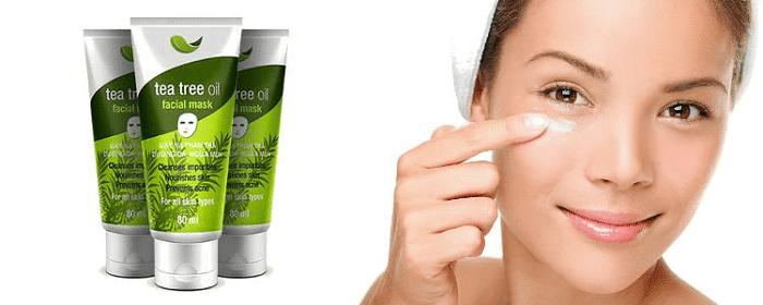 tea tree oil facial mask vedette