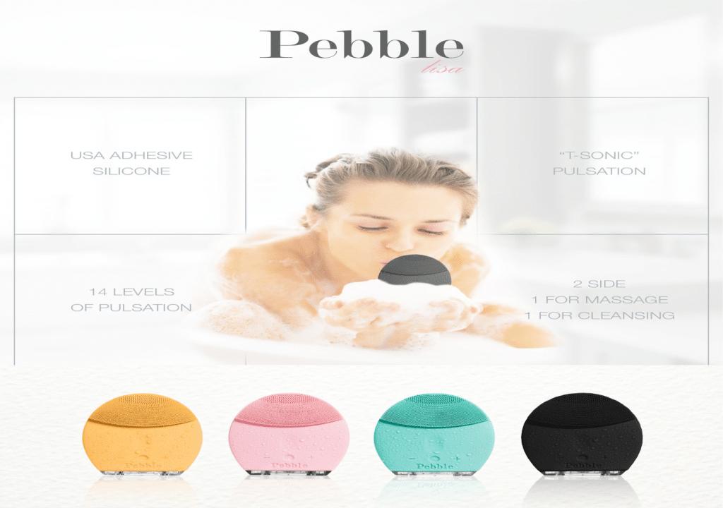 so sánh máy rửa mặt pebble lisa và sunmay