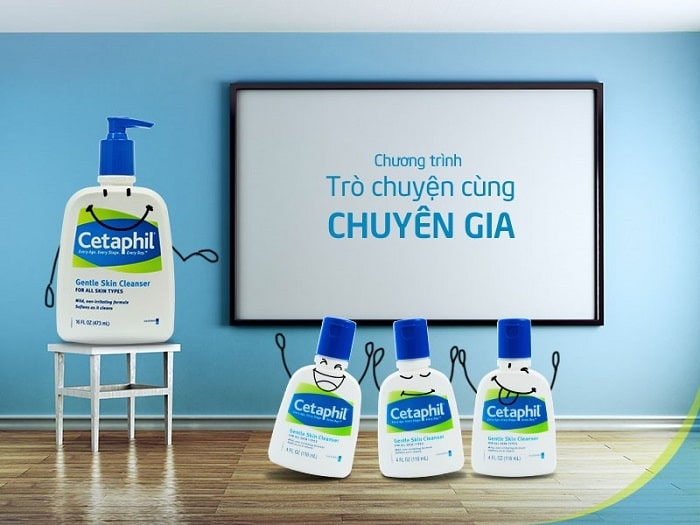 sữa rửa mặt cetaphil gentle skin cleanser