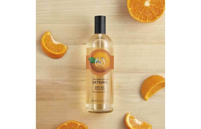 body mist the body shop best seller