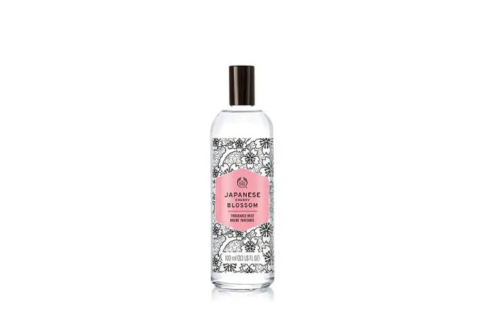 the body shop cherry blossom body mist review
