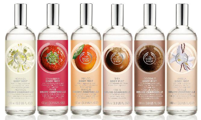 body mist the body shop giá