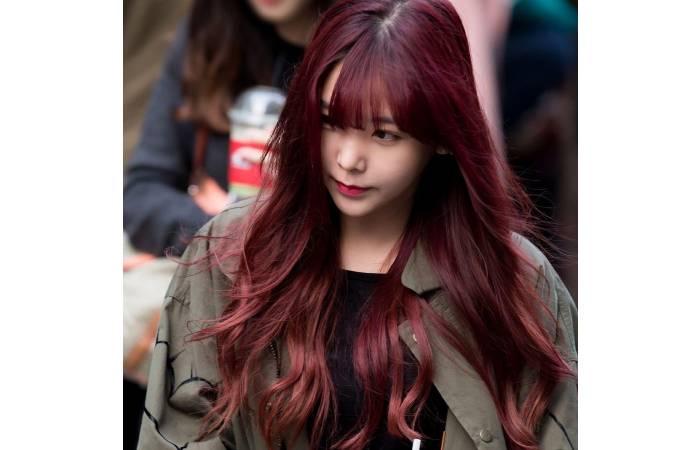 màu tóc đẹp cho tóc ngắn