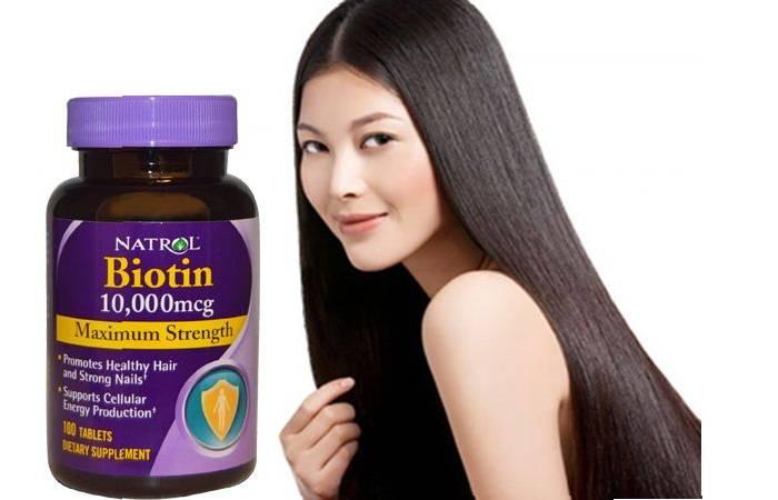 thuốc trị rụng tóc hiệu quả biotin