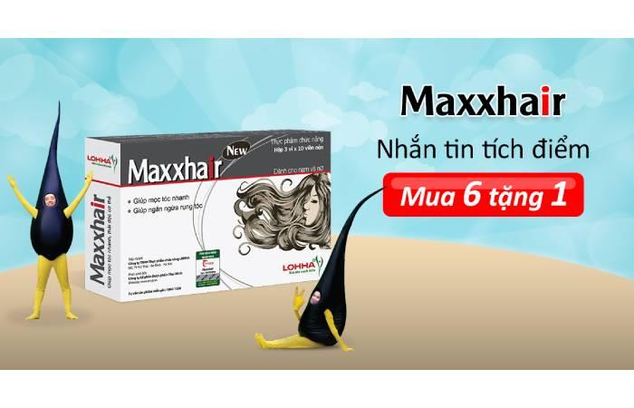 thuốc trị rụng tóc maxxhair có tốt không