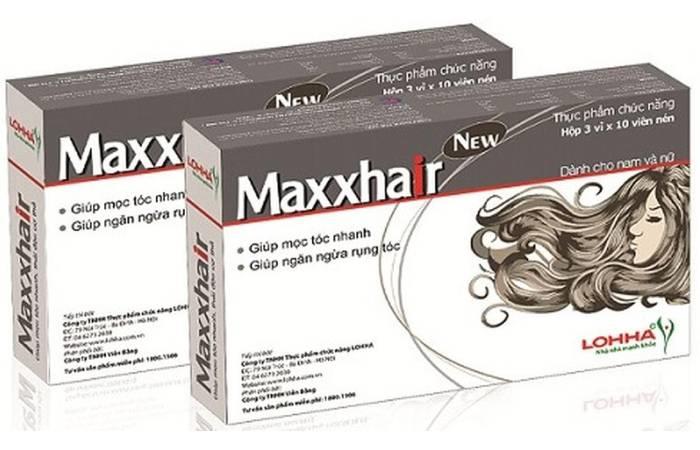 thuốc trị rụng tóc maxxhair giá bao nhiêu