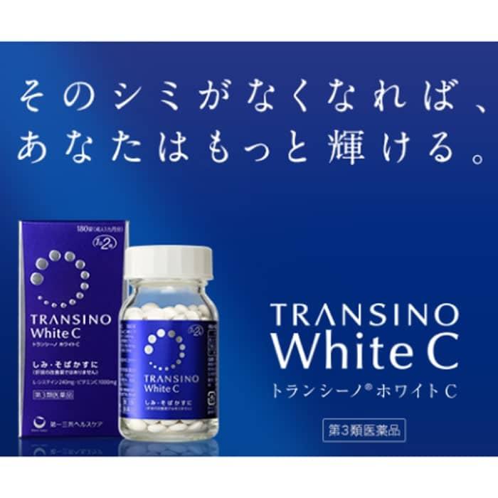 cách uống transino white c