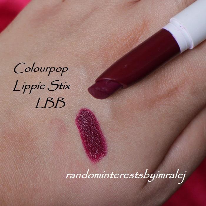 Son Colourpop Lippie Stix LBB – Màu Tím Mận