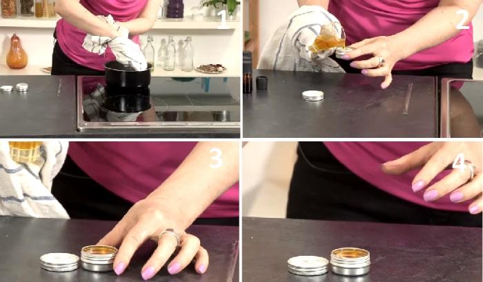 cách làm nước hoa khô từ vaseline