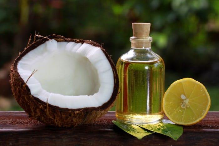 cách trị gàu mảng bằng dầu dừa