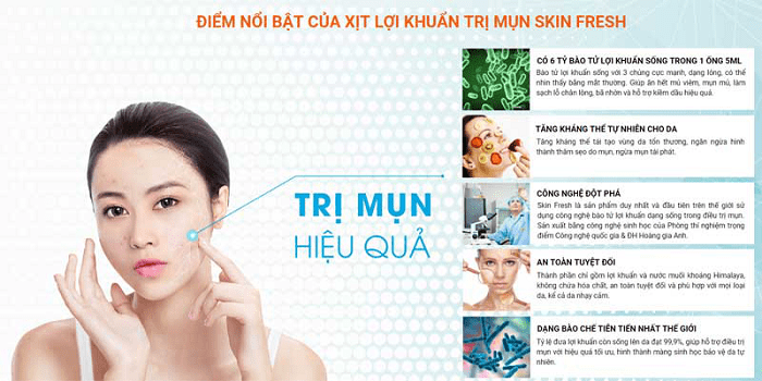 skin fresh xịt lợi khuẩn review