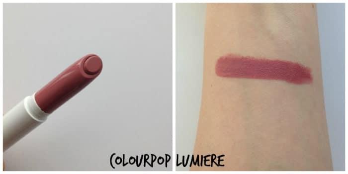 Son Colourpop Lippie Stix Lumiere – Màu Hồng Tím Đất