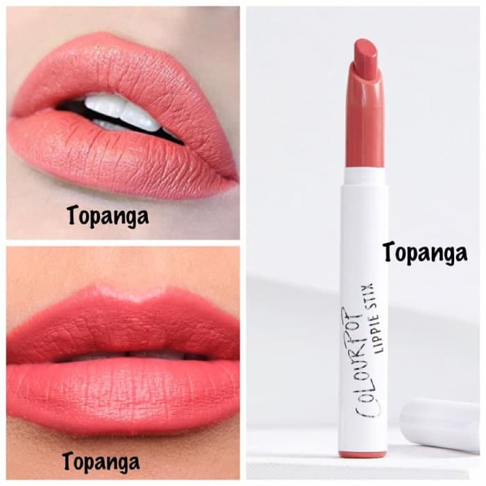 Son Colourpop Lippie Stix Topanga – Màu San Hô Đất
