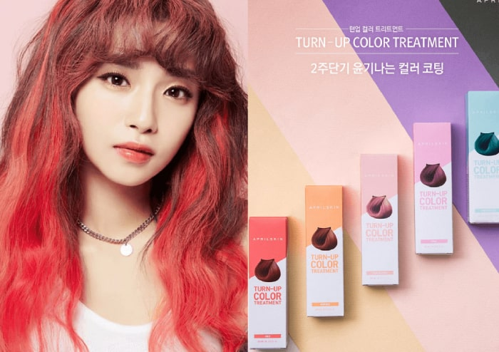 thuốc nhuộm tóc tạm thời april skin