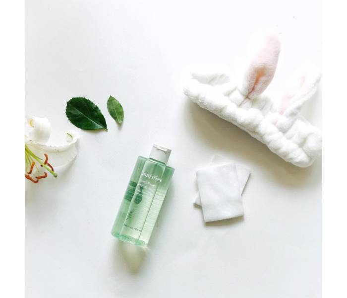 toner innisfree green tea fresh skin