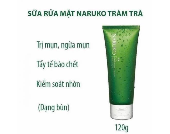 độ ph củasữa rửa mặt naruko