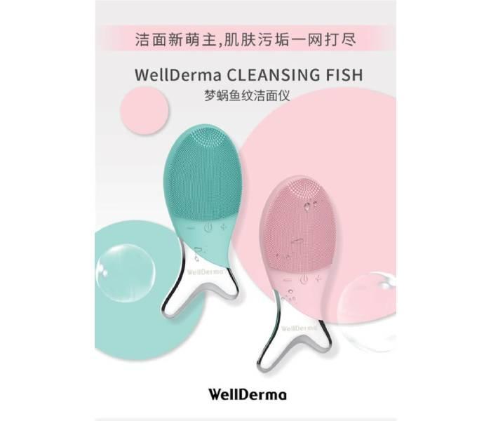 cách sử dụngmáy rửa mặt wellderma