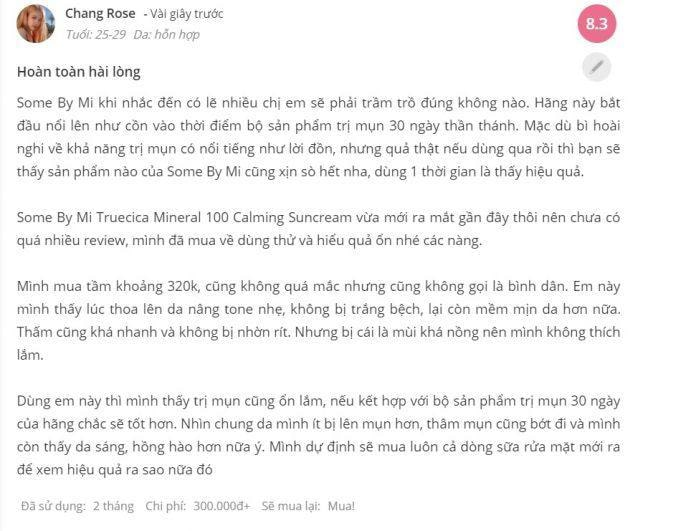 kem chống nắng some by misheis