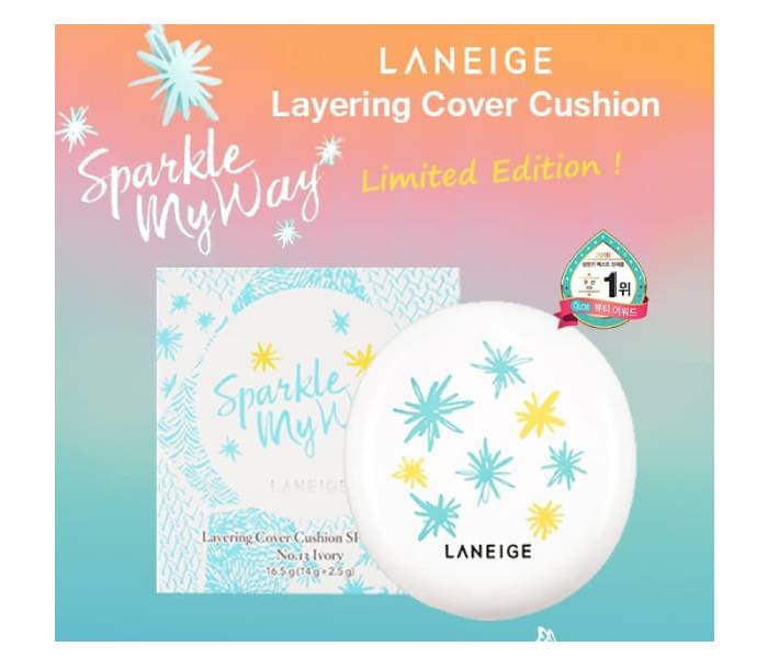 cushion laneige sparkle my way