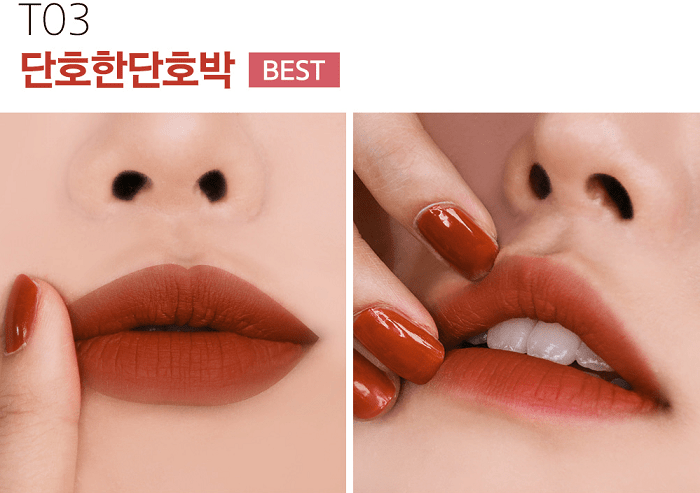 black rouge cotton lip color t03