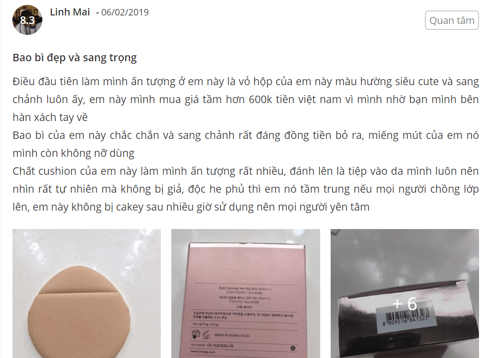 cushion laneige pore control review