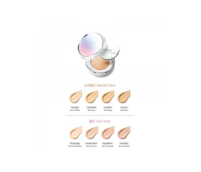 laneige cushion swatch