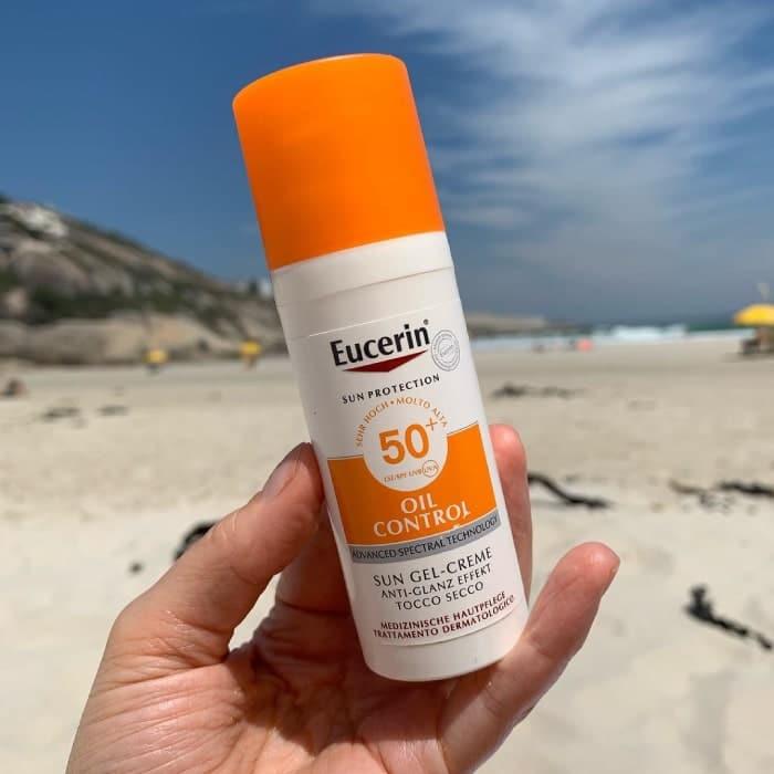 kem chống nắng eucerin dành cho da dầu