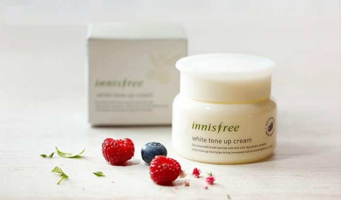 innisfree tone up cream review