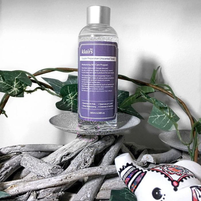 klairs toner unscented review