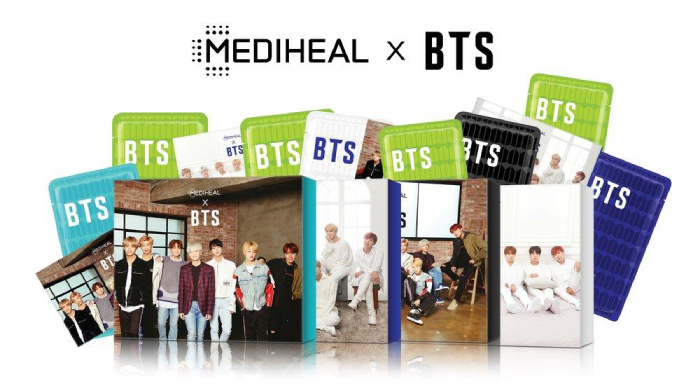 mặt nạ mediheal bts review