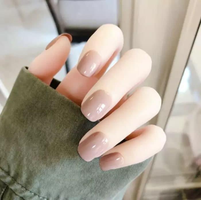 sơn móng tayđơn giản