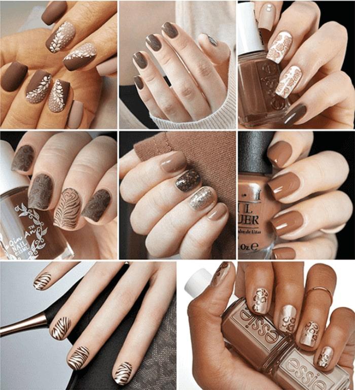 các mẫu móng tay đẹp
