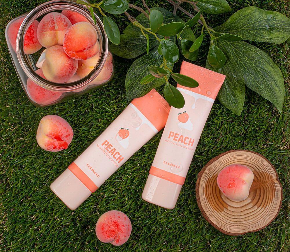 cách sử dụng peach whipping tone up cream