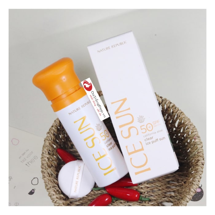 kem chống nắng ice sun trắng review